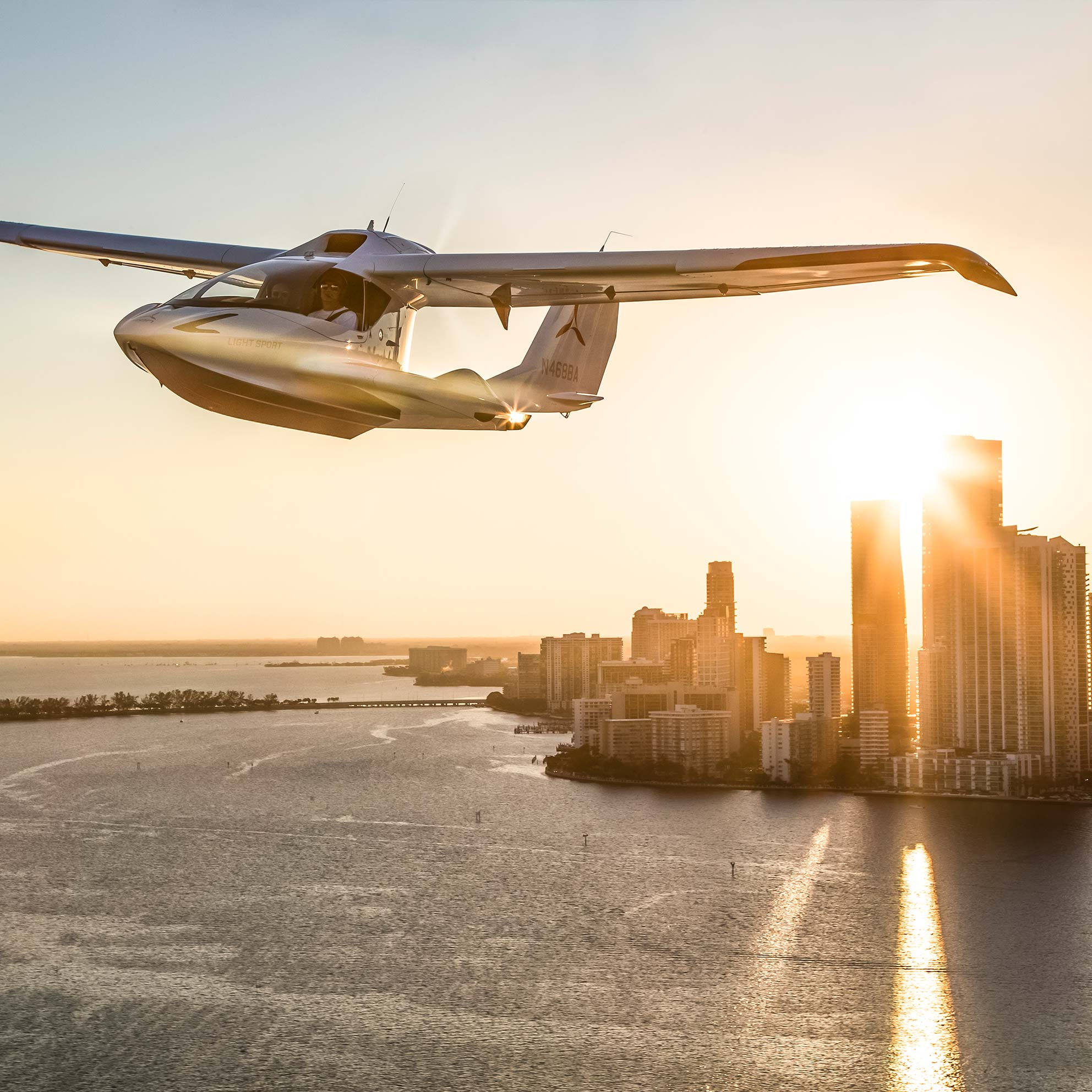 Art Meets Aviation | Learn more about the ICON A5 Light